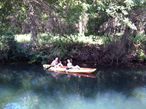 Karen-Bob-kayaking-crystal-river