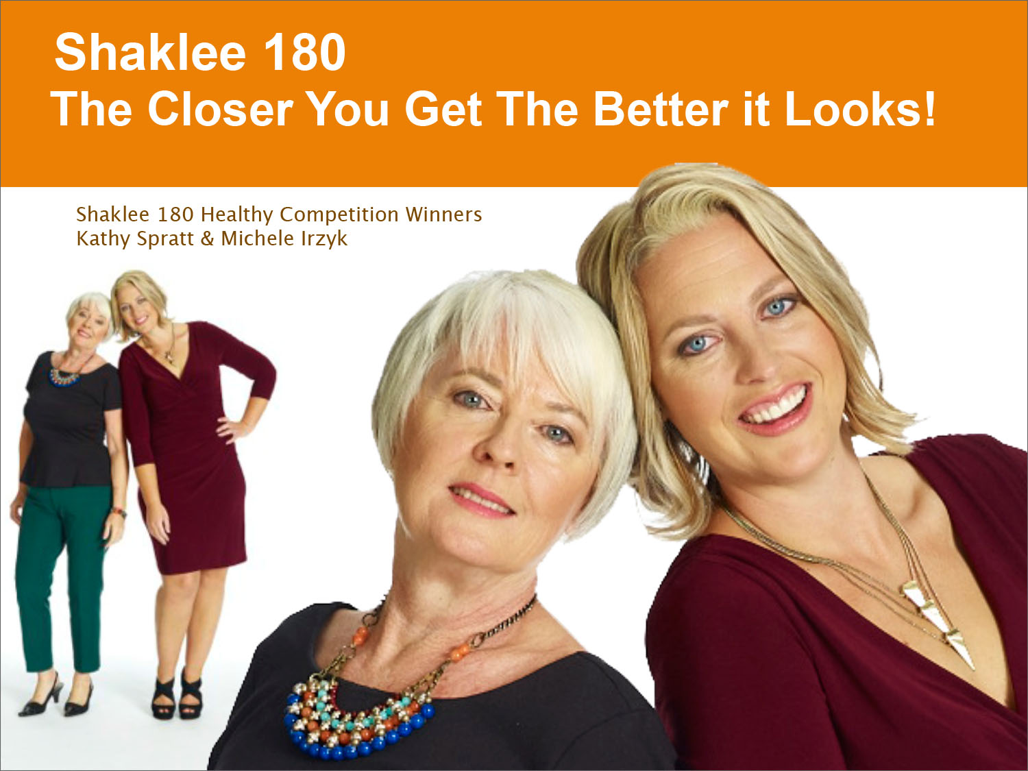 Shaklee 180 Healthy Competition Winners